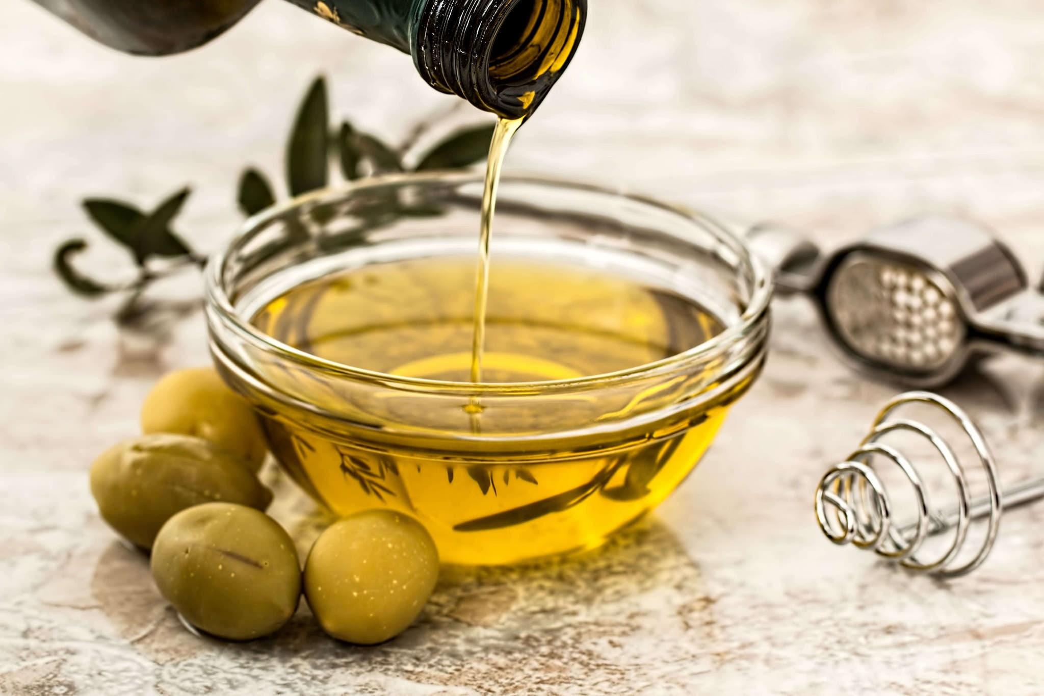 olivový olej na spevnenie pŕs